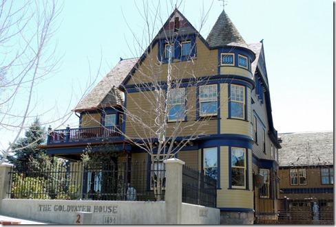 Goldwater house Prescott AZ
