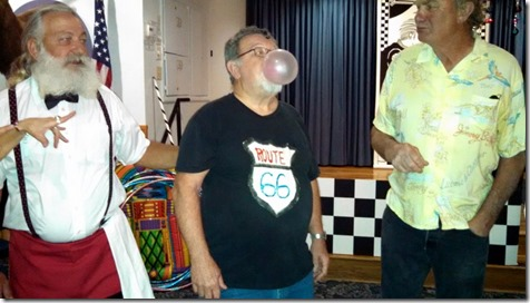 Bubble gum blowing contest, Elks Sock Hop 3/14/15