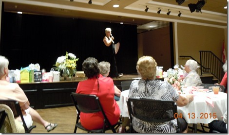Ladies luncheon speaker