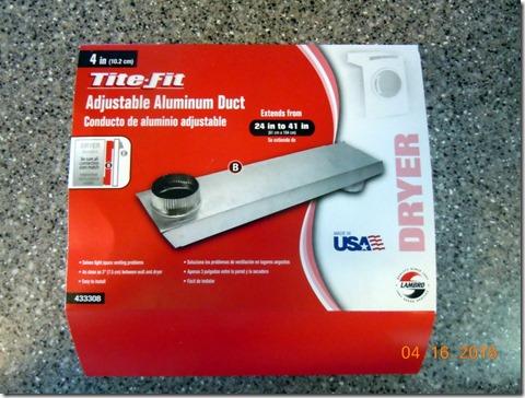 Adjustable Aluminum Duct