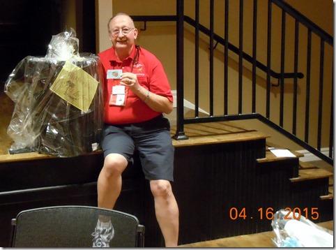 Bob and his winning ticket
