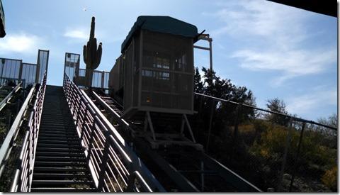 Funicular at Lake Pleasant