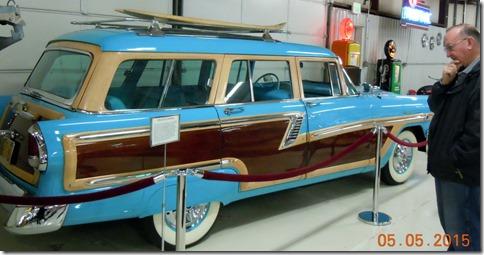 1956 Mercury Monteray, belonged to Barbara Cussler