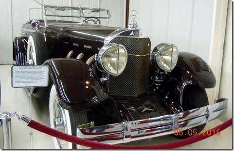 1928 Mercedes Benz 630K, one of a kind