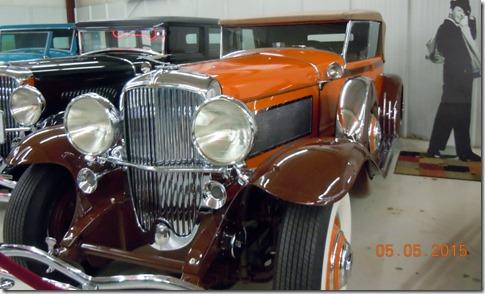 1929 Duesenberg Model J-140. In 1970's this was a Hot Wheel design. Dirk Pitt drove across refecting Pool in