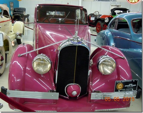 1936 Avions Voisin C-28 Ambassade- featured in Sahara