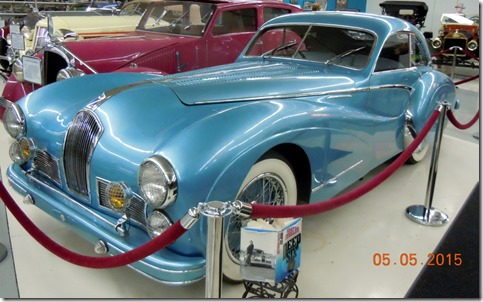 1948 Talbot Lago Grand Sport feactured in Deep Six