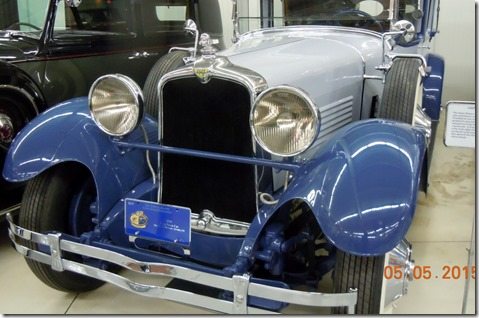 1928 Stutz Town Car, just won an award in Florida on Amelia Island