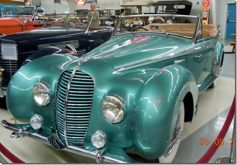 1948 Delahayne Type 135- raced, featured in Cresent Dawn.