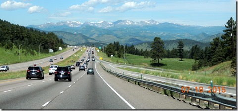 I-70 view