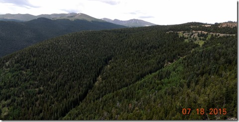 Juniper Pass in Arapahoe National Forest