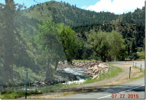 Hwy 36 from Lyons to Estes Park