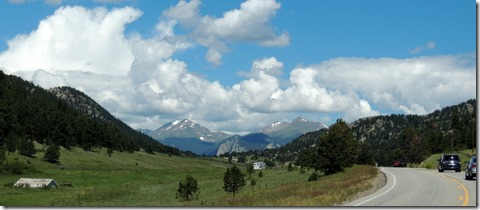 Boulder from Hwy. 36