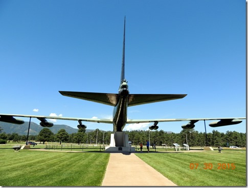 Air Force Academy  B-52