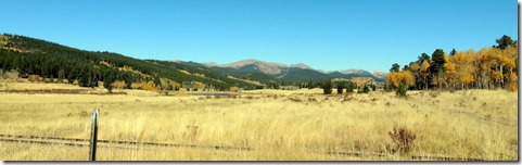 view from Kenosha Pass on Hwy 285 in CO