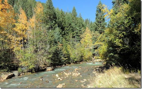 Hwy 62 CO, North Fork of the South Platte River