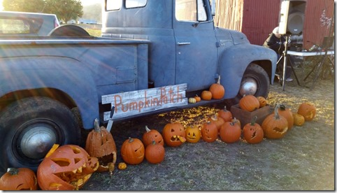 Pumpkin carving results