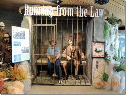 Bob in jail with Butch Cassidy
