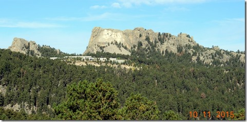 Mt. Rushmore from Iron Mountain Road