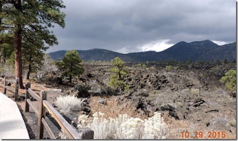 Lava flow at Sunset Crater Volcano NP AZ