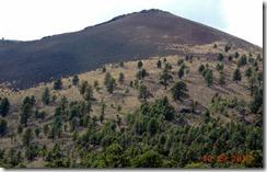 Cinder Hill, Lava flow at Sunset Crater Volcano NP AZ