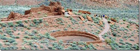 Wupatki Pueblo  and Keva