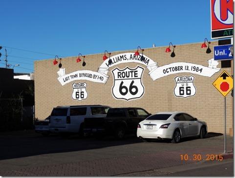 Williams AZ, Rt. 66