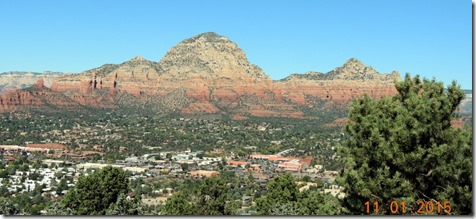 Sedona AZ, from Airport Overlook