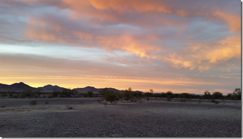 Sunset Quartzsite