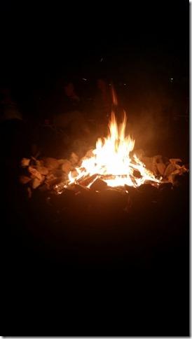 Campfire, Quartzsite