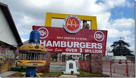 Original McDonalds, San Bernadio CA