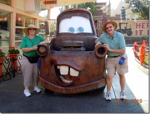 Car Land at Disney Calif Adventure