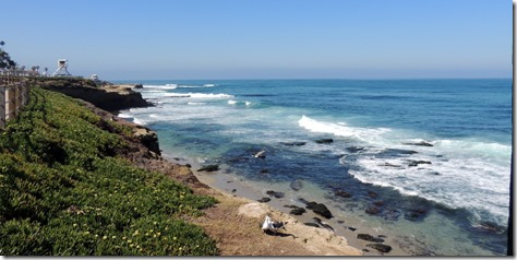 La Jolla beach