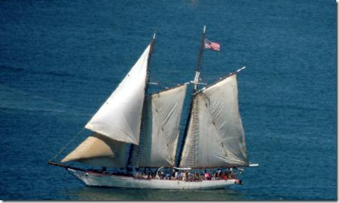 Tall ship from Cabillo
