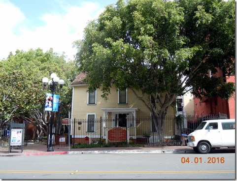 William Heath Davis House in Gaslamp Quarter
