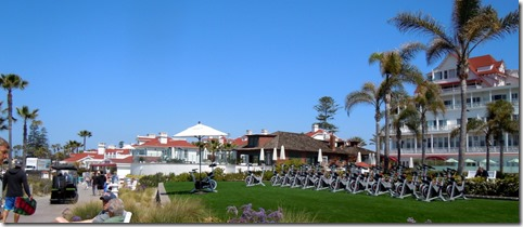 Hotel Coronadod spinning class!