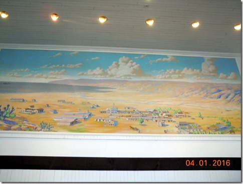 Mural of Old Town San Diego