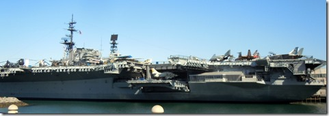 USS Midway, Embarcadaro