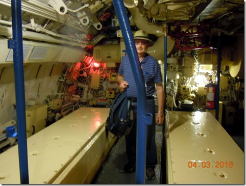 Bob in engine room