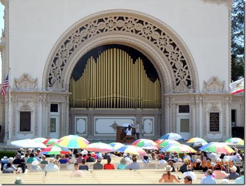 Sprecklels Organ at Balboa Park