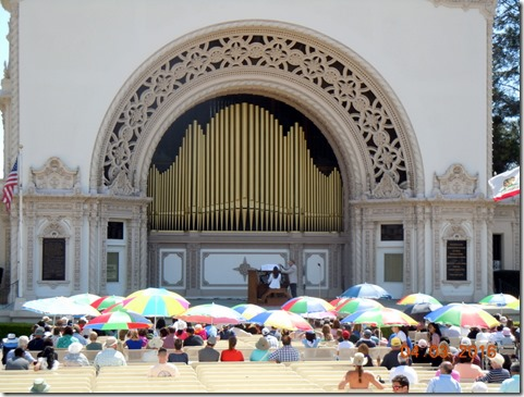 Sprecklels Organ at Balboa Park