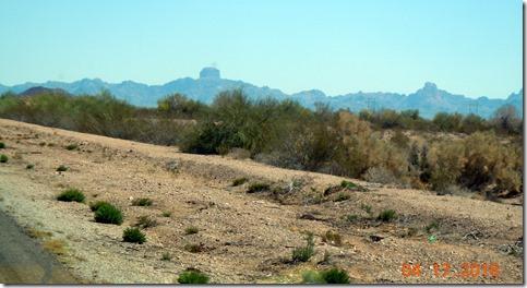 Castle Rock outside Yuma