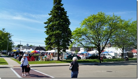 Farmers Market, Sturgeon Bay, WI