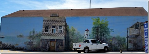 Mural, Baileys Harbor, WI