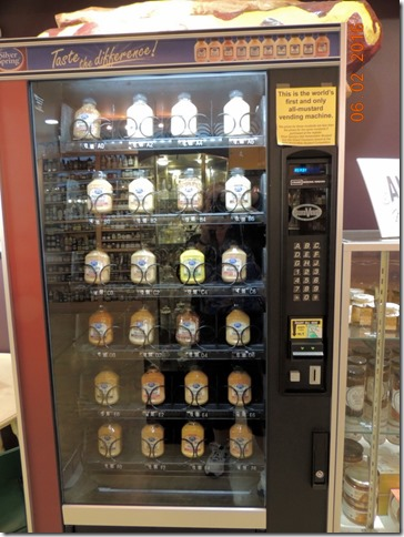 Worlds first and only Mustard vending machine, Mustard Museum, Middleton WI