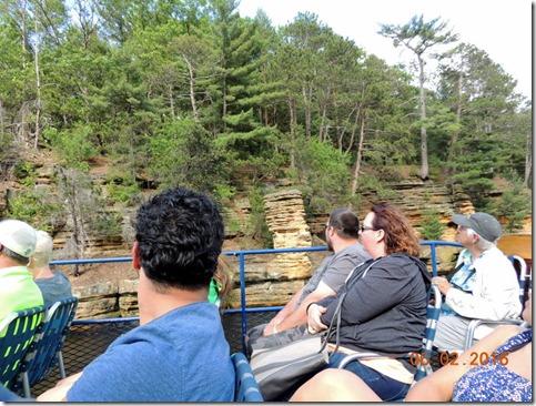 Chimney Rock, Wisconsin Dells Boat Tour