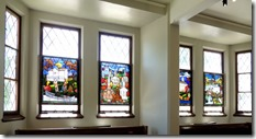 Stain glass windows, Appleton WI , History Museum