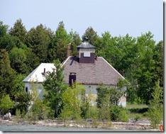 Fog Horn House, Plum Island, WI