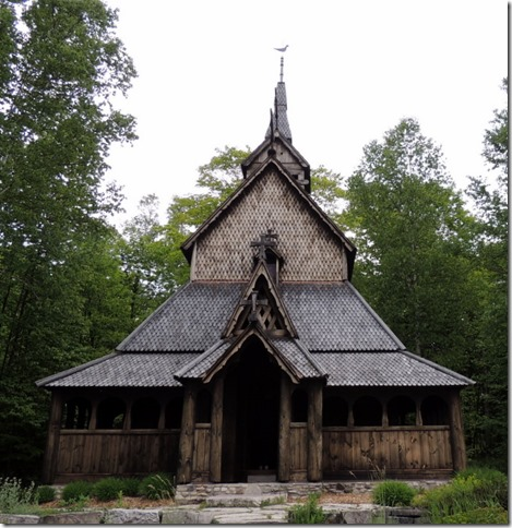 Stavkirke, Washington Island, WI