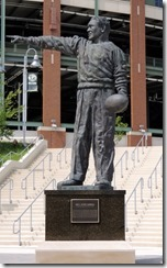 Vince Lombardi Statue at Lambough Field, Green Bay, WI